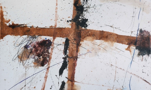 PAINTING 11/5/71, 1971, oil / paper lined on canvas, 170x160cm